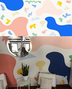 Wallpaper I designed for Dos Mundos Creative Agency