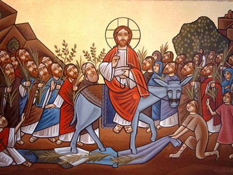Palm Sunday: We Are The Crowd