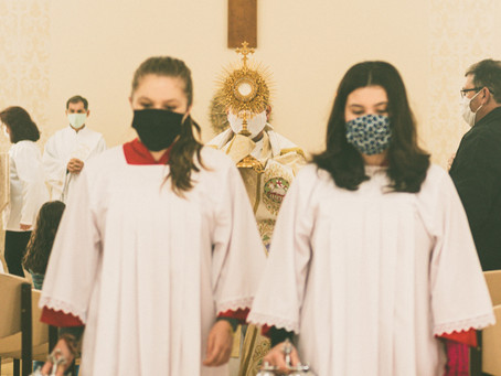 The Weird World of COVID Church