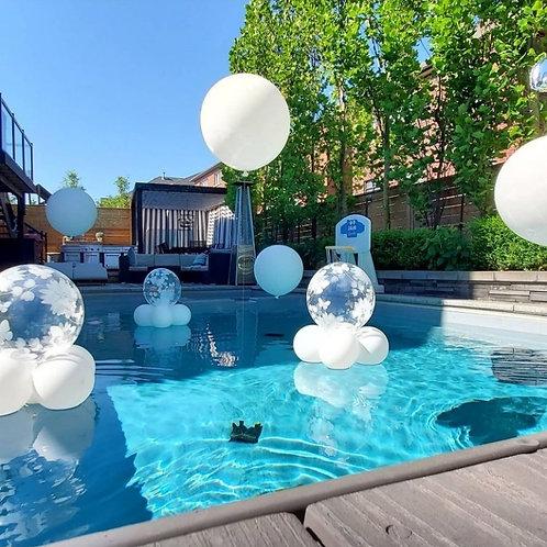 Pool jumbo balloons