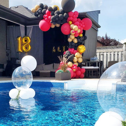 12ft Balloon Garland