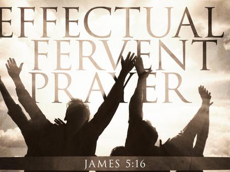 Day 15 Effectual Fervent Prayer