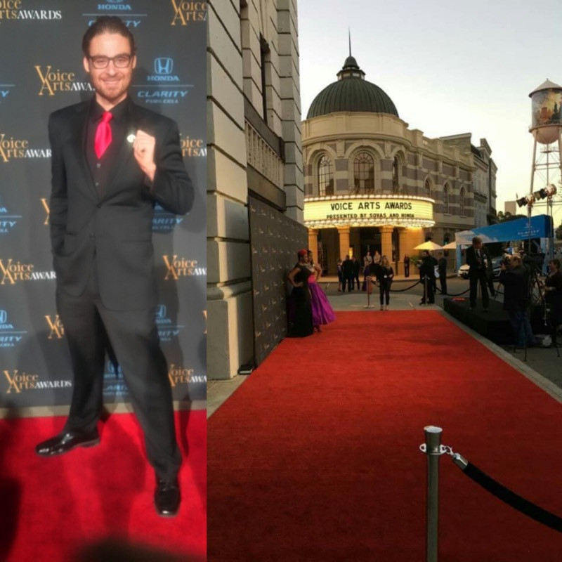 Andy Danish attends Voice Arts Awards