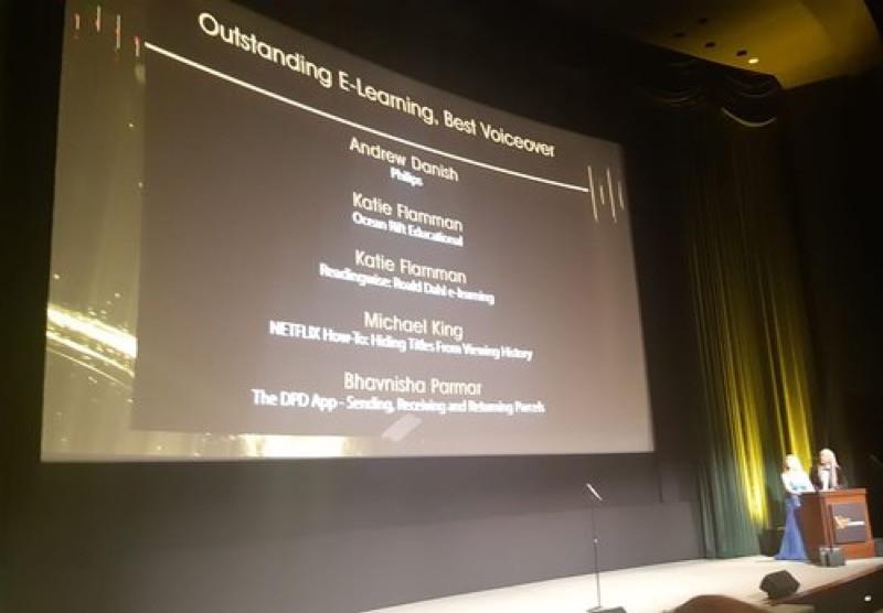 Nominees Voice Arts Awards 2018