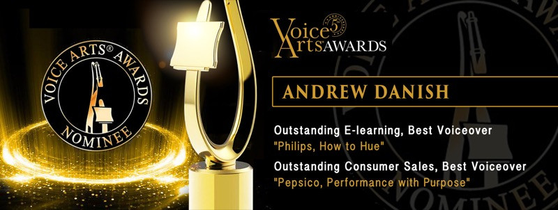 Voice Arts Awards Nominee Andy Danish