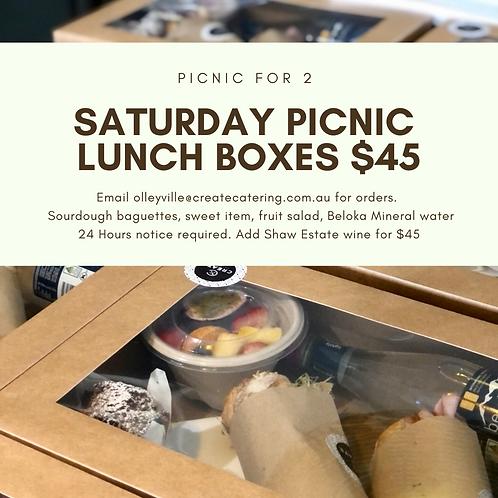 Saturday Picnic Boxes