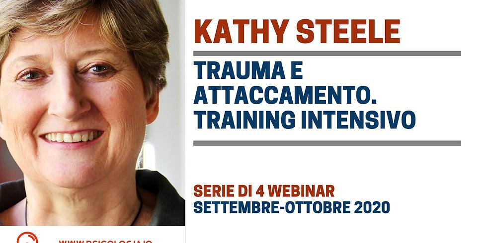 Trauma e Attaccamento | Training intensivo con Kathy Steele