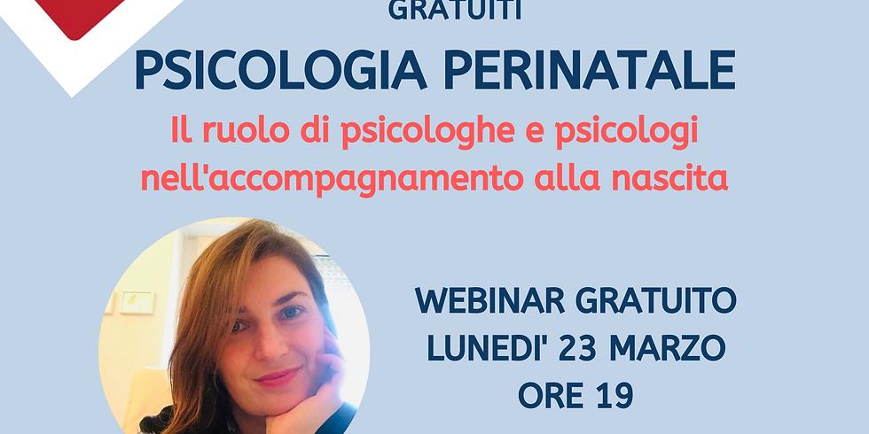 Psicologia PerinataIe. Il ruolo di psicologhe e psicologi nell'accompagnamento alla nascita