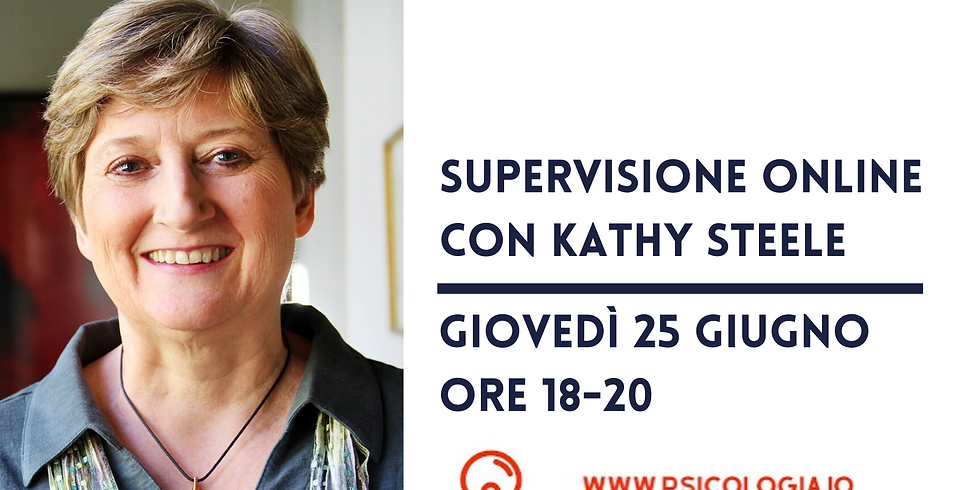 Supervisione online con Kathy Steele