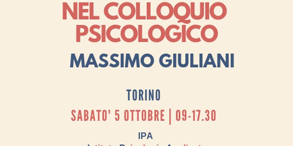 L'uso della Metafora nel Colloquio Psicologico | Massimo Giuliani