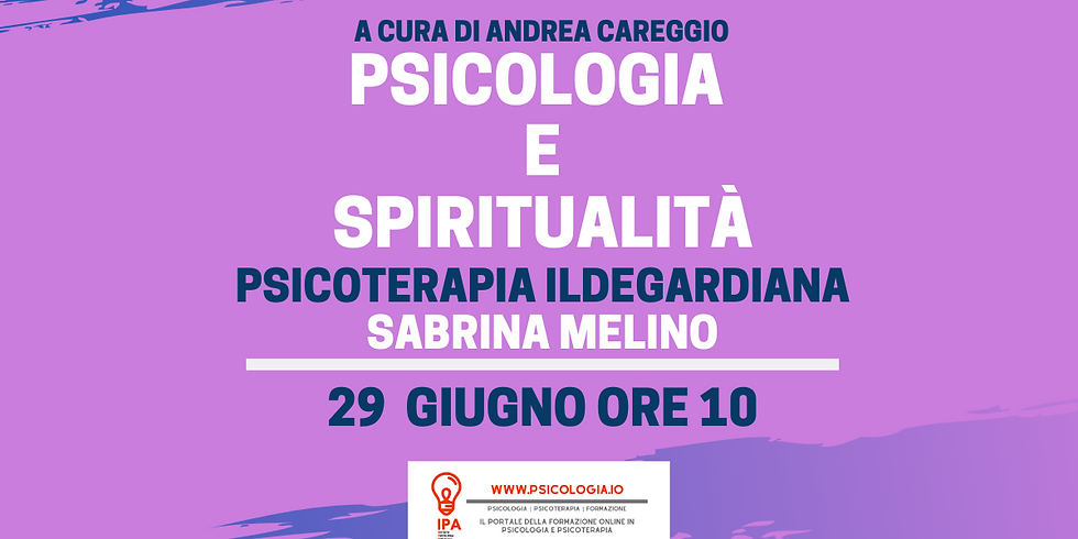 Psicoterapia Ildegardiana   Sabrina Melino