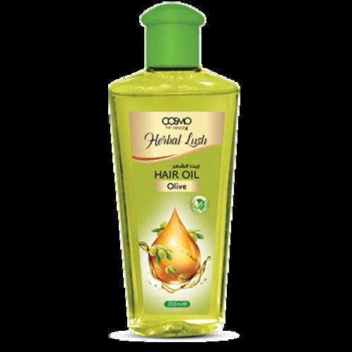 Cosmo Hair Naturals Herbal Lush Hair Oil - Olive 6.8 Fl. oz.