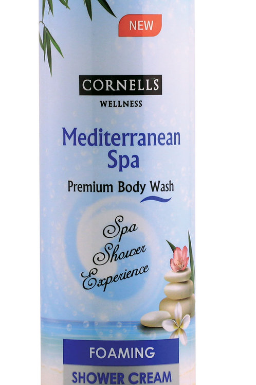 Cornells Foaming Shower Cream Mediterranean Spa 11.3 Fl. Oz.