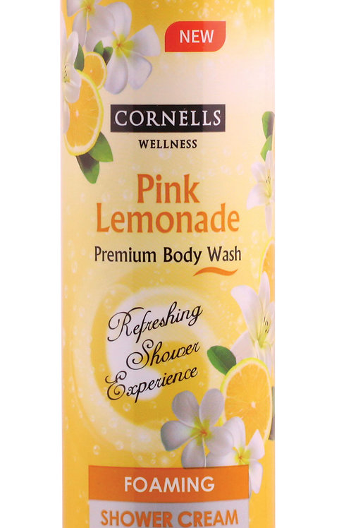 Cornells Foaming Shower Cream Pink Lemonade 11.3 Fl. oz.