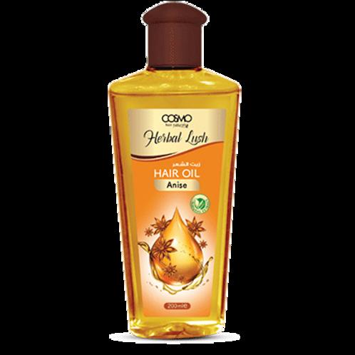Cosmo Hair Naturals Herbal Lush Hair Oil - Anise 6.8 Fl. oz.