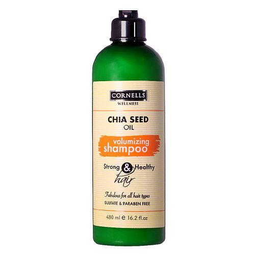 Moiturizing Shampoo Chia Seed Oil
