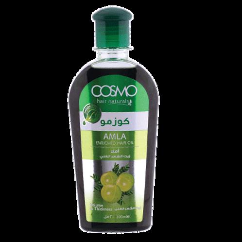 Cosmo Hair Naturals Amla Enriched Hair Oil 6.8 Fl. oz.