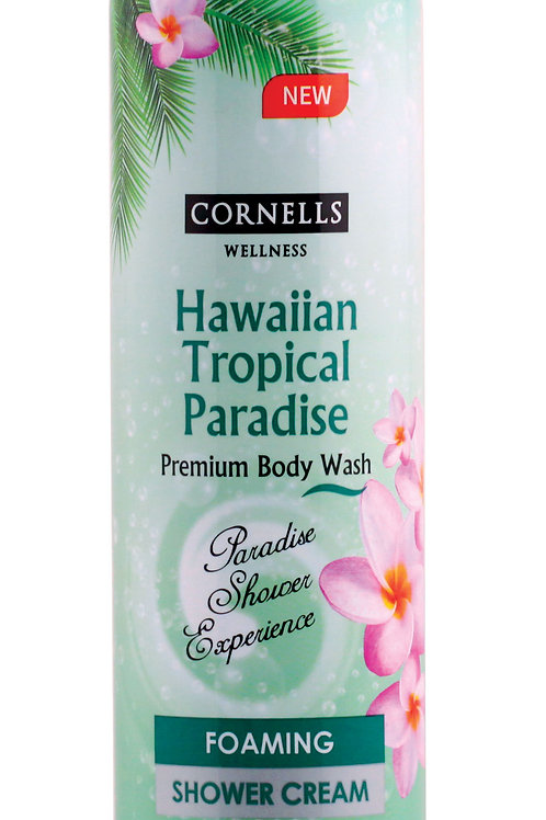 Cornells Foaming Shower Cream Hawaiian Tropical Paradise 11.3 Fl. oz.