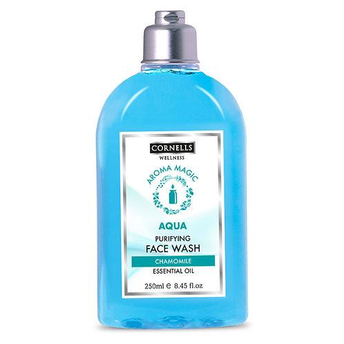 Cornells Face Wash Aqua Purifying with Chamomile Essential oils 6.8 Fl.oz.