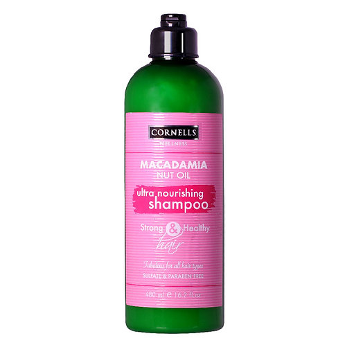 Moiturizing Shampoo Macadamia Oil