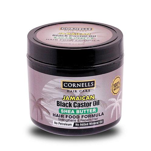Jamaican Black Castor Oil 100% Natural Hair Food - Shea Butter