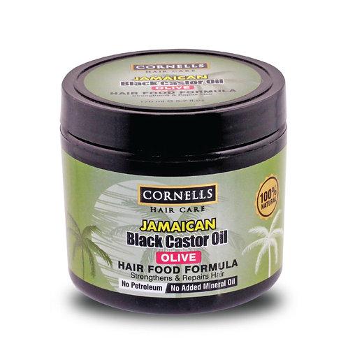Jamaican Black Castor Oil 100% Natural Hair Food - Olive