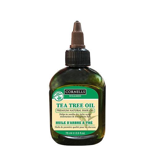 Cornells Wellness Tea Tree Premium 100% Natural Hair Oil 2.5 Fl.oz.