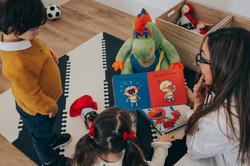 Kid friendly clinic & playroom
