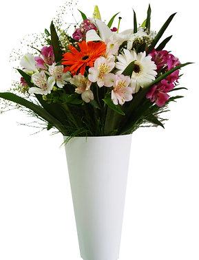 Jarra de flores mistas
