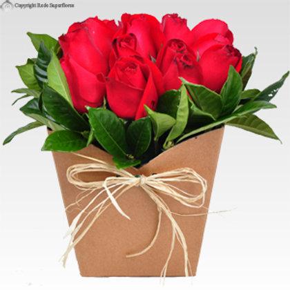 Carrinho de Rosas