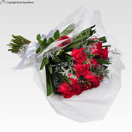 Buquê radiante 20 rosas
