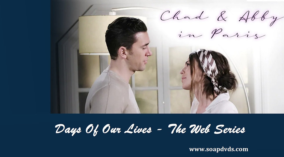 Chad & Abby in Paris - Days of Our Lives