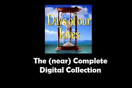 Digital Collection - Days of Our Lives External Hard Drive