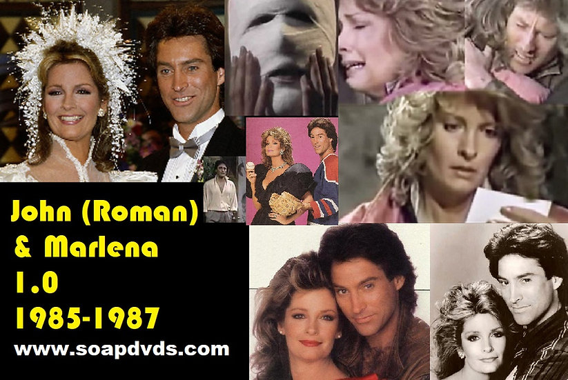 John (Roman) & Marlena 1.0 - The 80s - Days of Our Lives