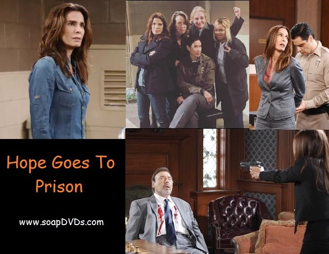 Hope Goes To Prison - Days of Our Lives