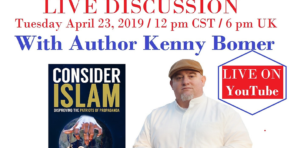 Come 2 Success (Isa Chris Skellorn) LIVE Discussion w/ Author Kenny Bomer