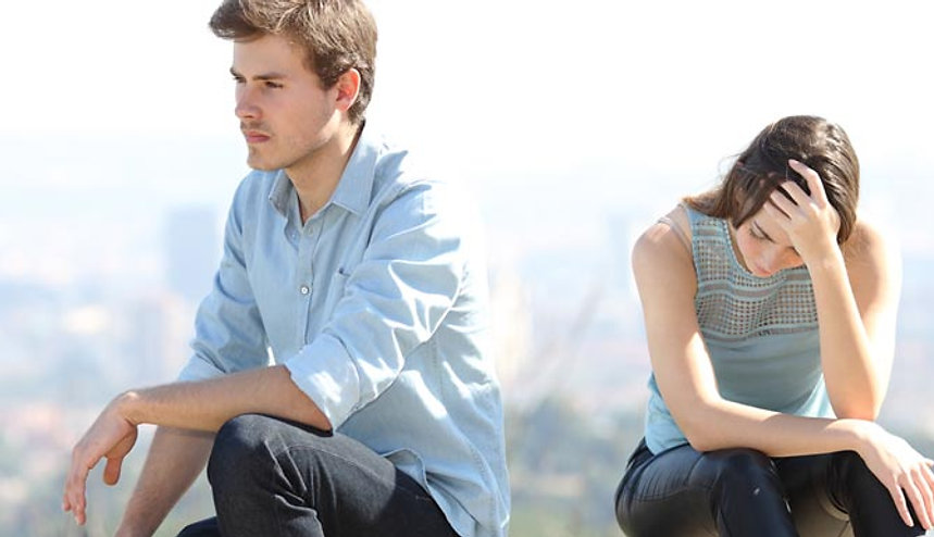 Upset Couple - Hypnotherapy for Breakups and Divorce in Los Angeles