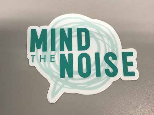 Mind The Noise - Stickers