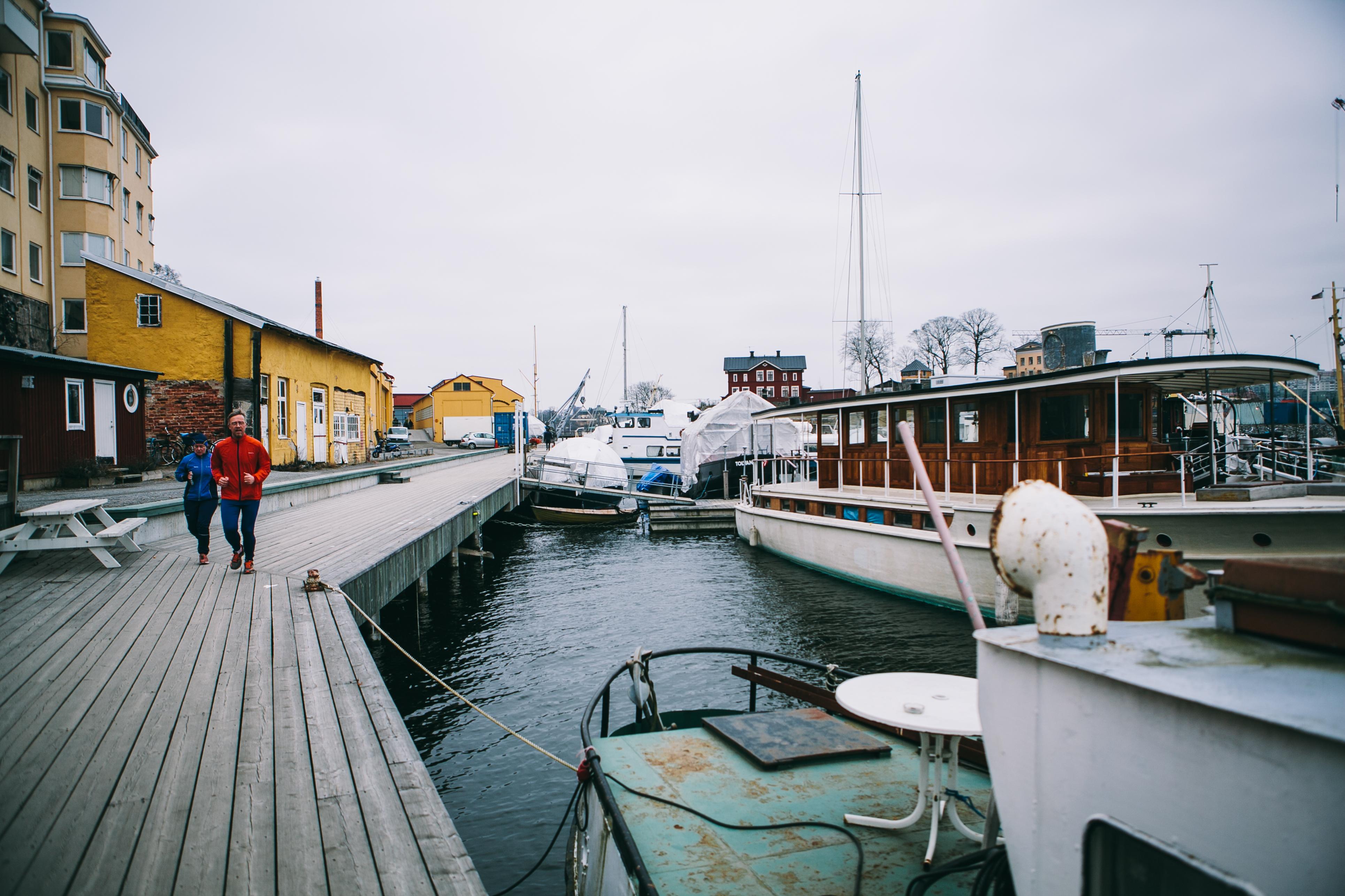 Тихая гавань. Стокгольм.
