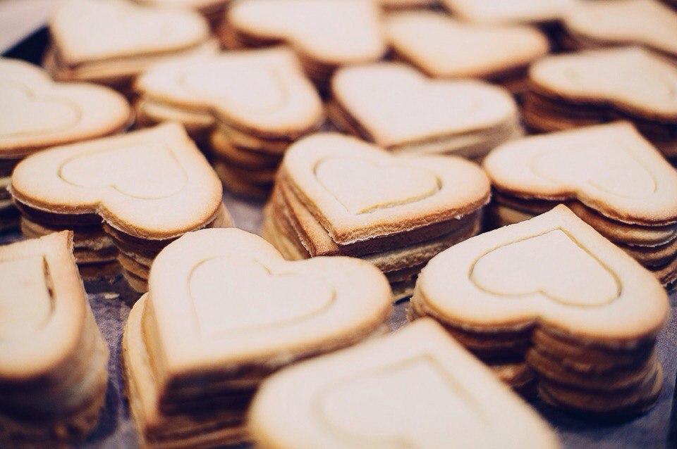 сердечное печенье от шеф-повара АВ