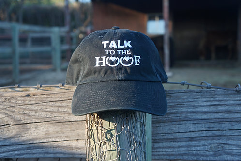 Talk to the Hoof hat