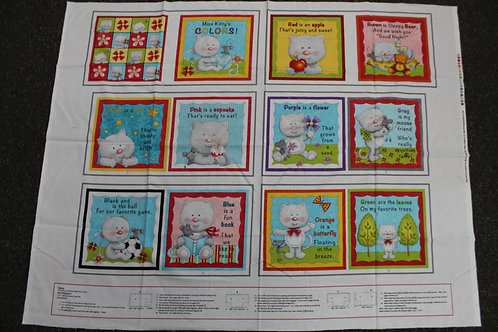Miss Kitty's Colors Book