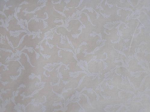 White on Cream - 3 Yards