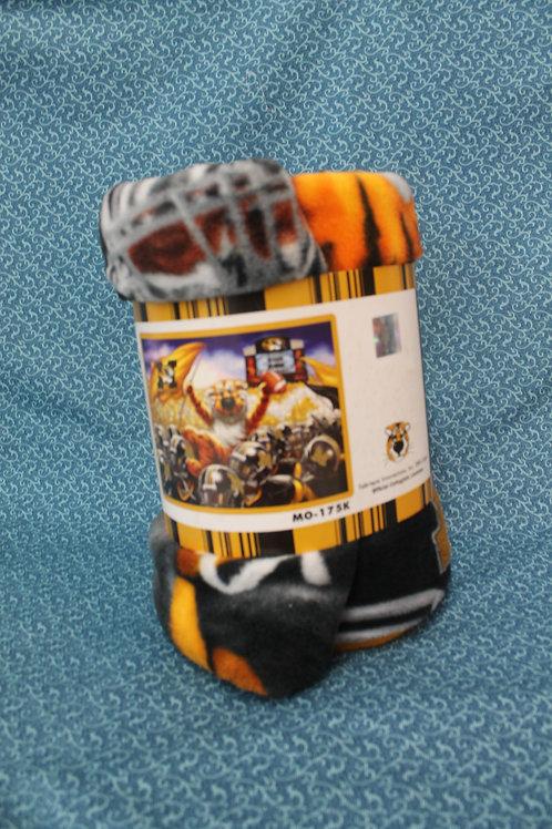 Missouri Tigers Fleece Throw Kit