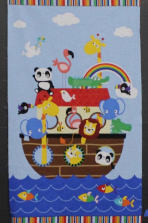 On The Sea Children's Panel Quilt Kit
