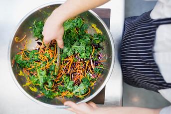 Make healthy delicious food