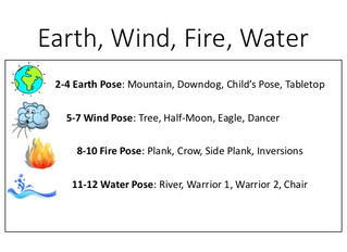 Earth, Wind, Fire, Water Game for Kids