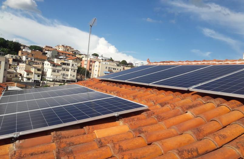 Usina Sagrada Família 3,30 kWp