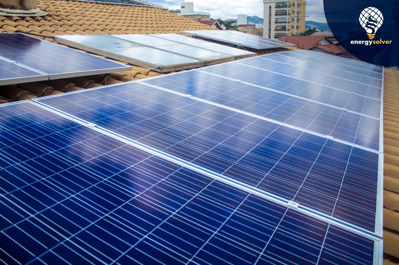 15 módulos Fotovoltaicos
