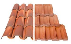 telhado colonial - telha cerâmica
